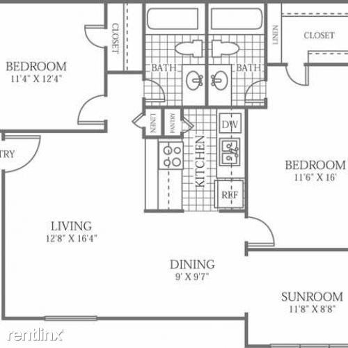 13950 Trinity Blvd #5178, Euless, TX 76040 2 Bedroom
