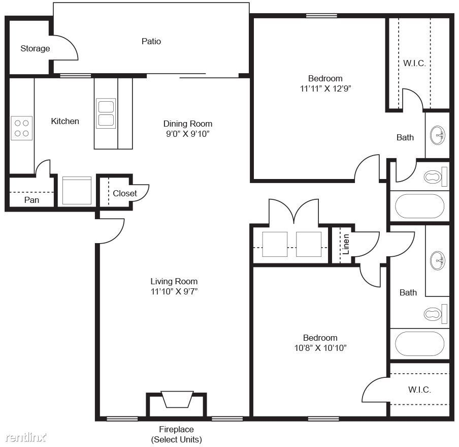 1401 Shady Ln #6084, Bedford, TX 76021 2 Bedroom Apartment
