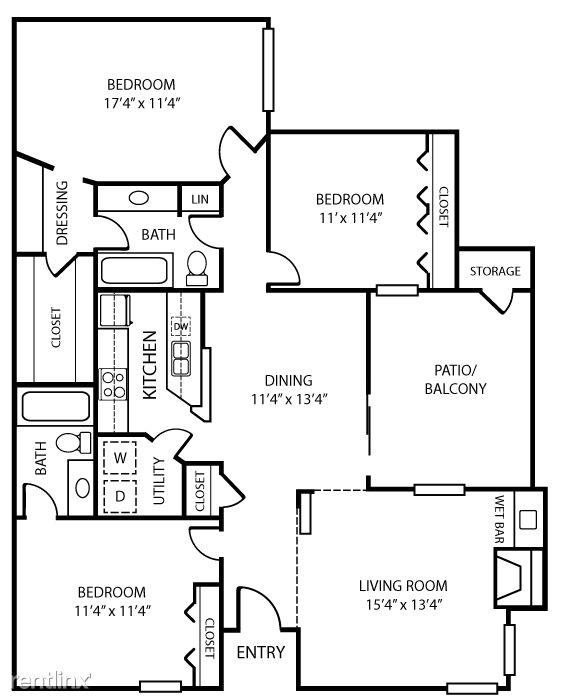 1401 Sotogrande Blvd #2009, Euless, TX 76040 2 Bedroom