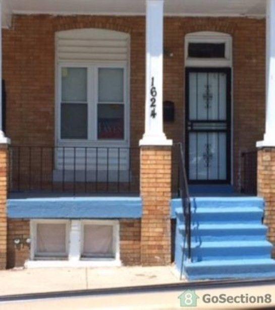 3 Bedroom Apartment For Rent: 1624 Braddish Ave, Baltimore, MD 21216