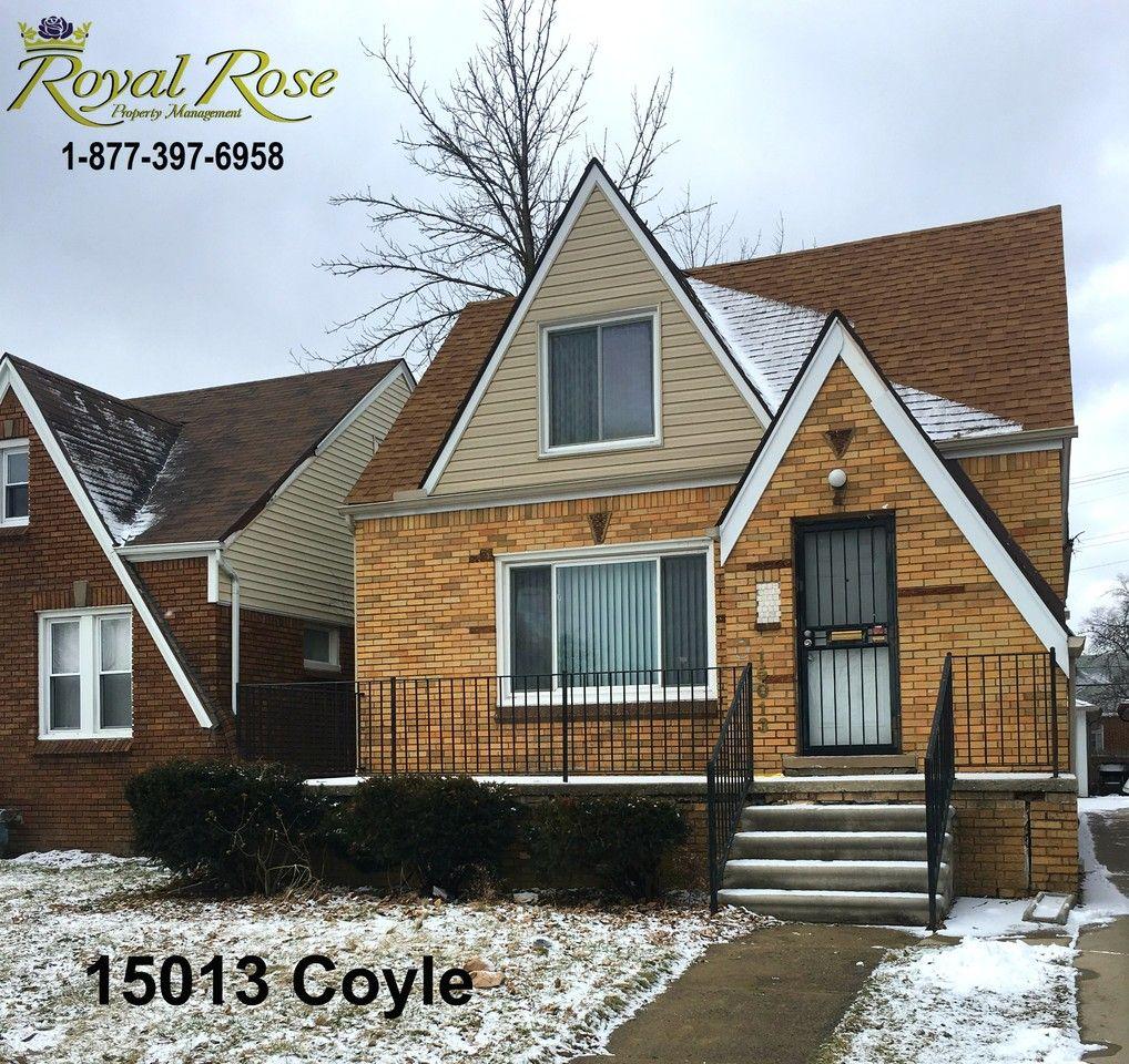 15013 Coyle St, Detroit, MI 48227 3 Bedroom Apartment For