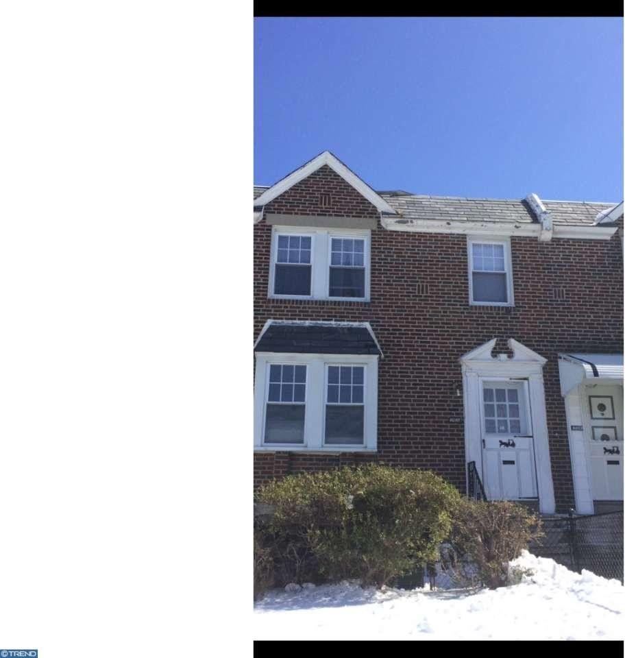 6655 Horrocks St, Philadelphia, PA 19149 2 Bedroom House