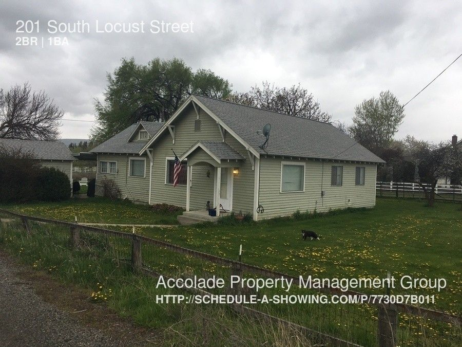 201 Locust St Ellensburg Wa 98926 2 Bedroom House For