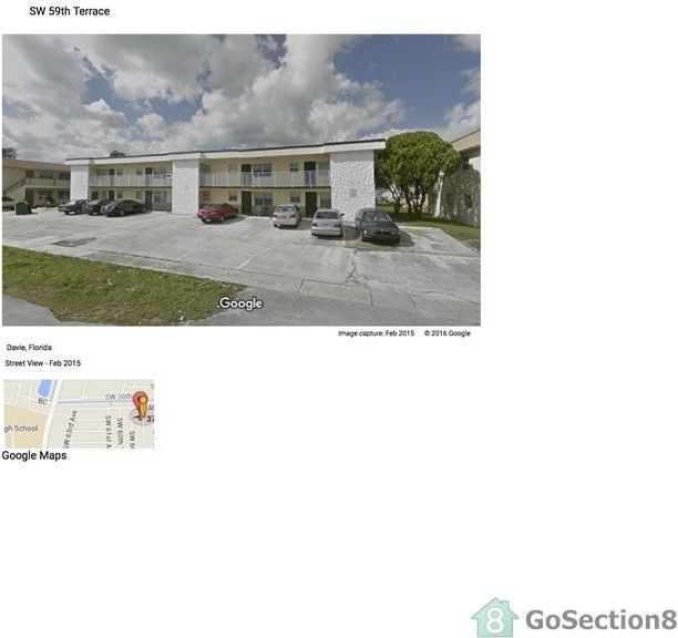 3701 SW 59th Terrace, Davie, FL 33314 1 Bedroom Apartment