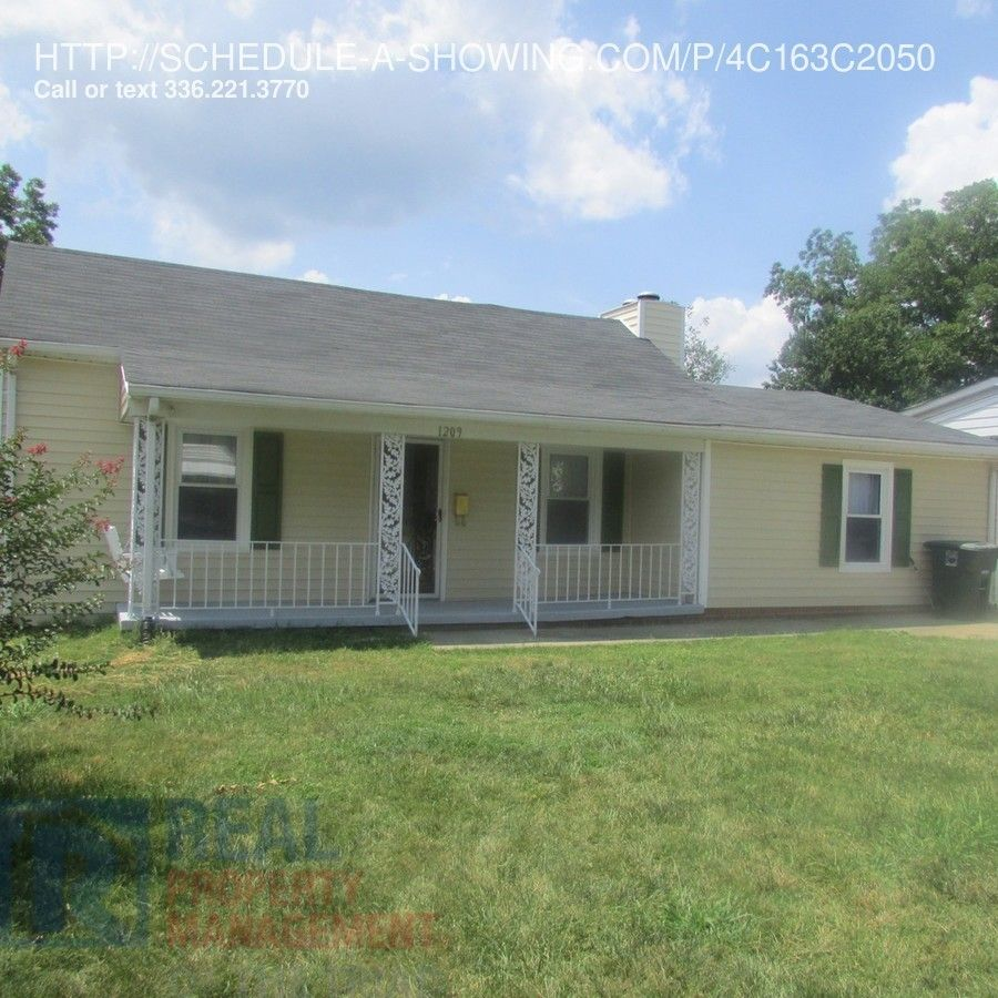 1209 Walnut St #SMALLROOM, Greensboro, NC 27405 2 Bedroom