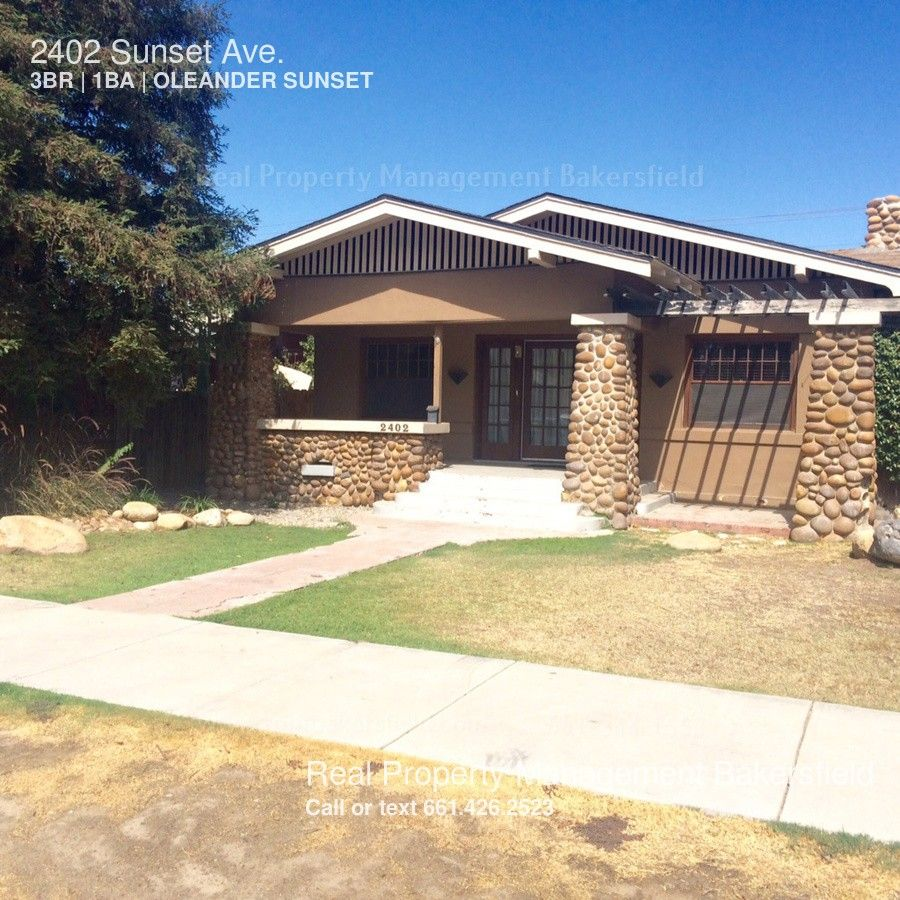 2402 Sunset Ave, Bakersfield, CA 93304 3 Bedroom House For
