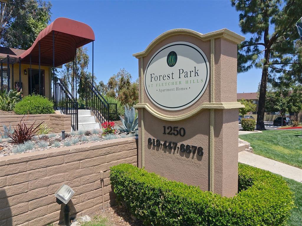 Forest park el cajon apartments for rent 1250 petree st - 2 bedroom apartments for rent in el cajon ca ...