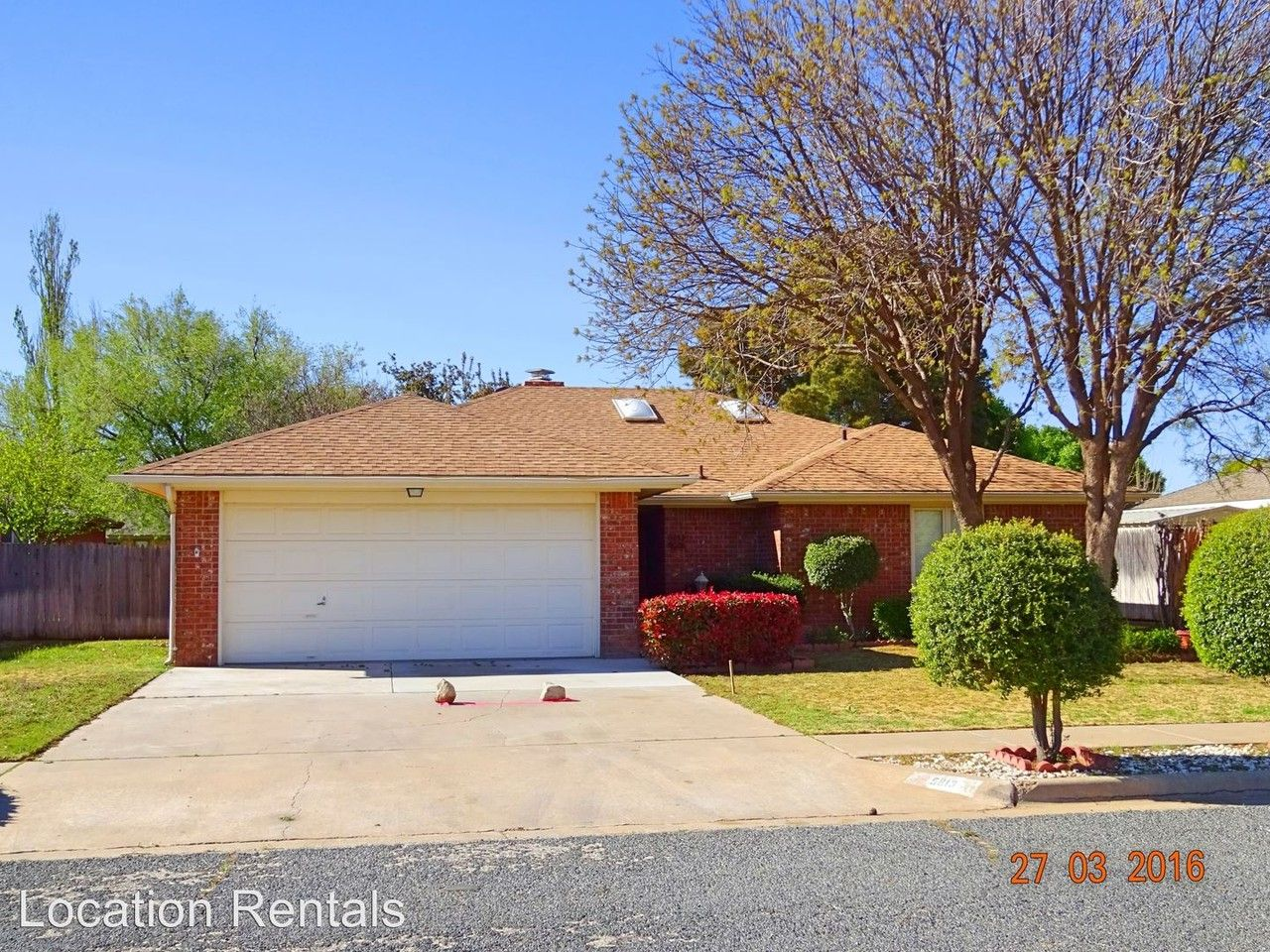 5813 74th St, Lubbock, TX 79424 3 Bedroom House for Rent ...