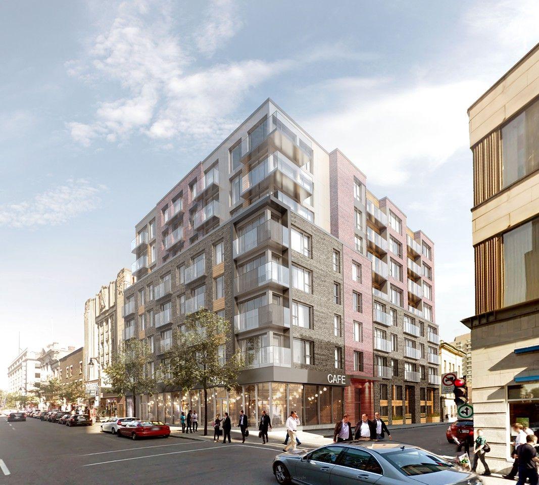 One Bedroom Apartments For Rent: 1325 Rue St-Andre, Montréal, QC H2L 0G6 1 Bedroom