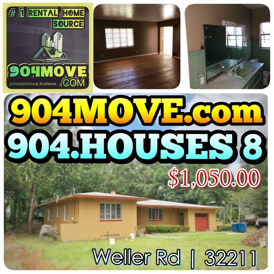 1537 Forest Hills Road Jacksonville Florida 32208 4: 5449 Weller Avenue, Jacksonville, FLORIDA 32211 3 Bedroom