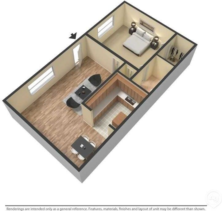 7823 Hare Ave, Jacksonville, FL 32211 1 Bedroom Apartment