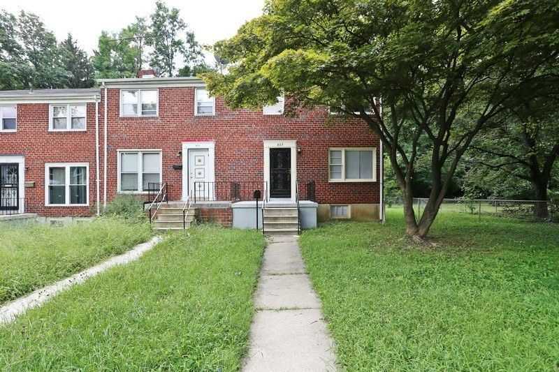 803 reverdy rd baltimore md 21212 3 bedroom house for - 3 bedroom houses for rent in baltimore md ...