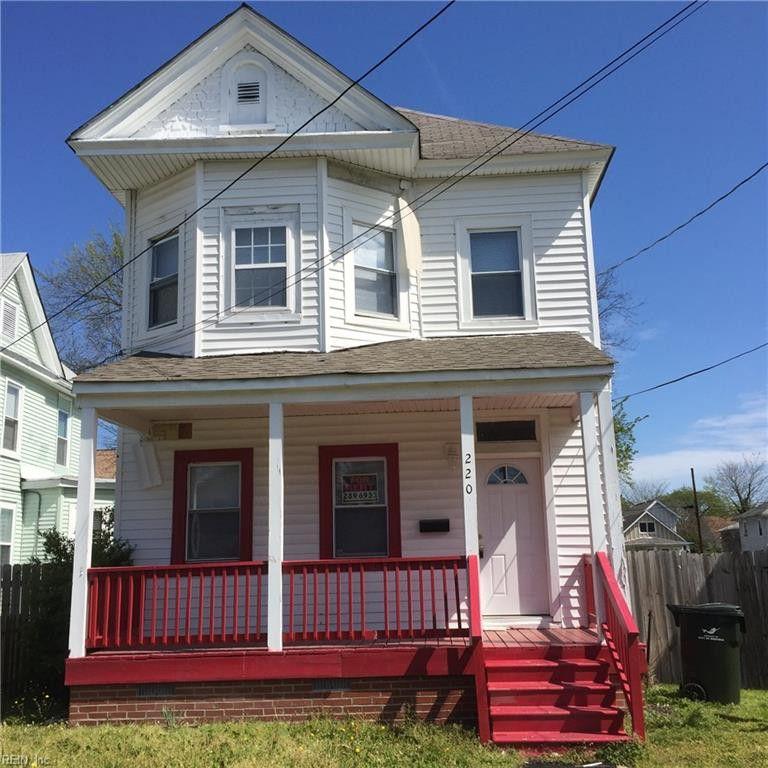 220 W 30th St, Norfolk, VA 23504 4 Bedroom House For Rent
