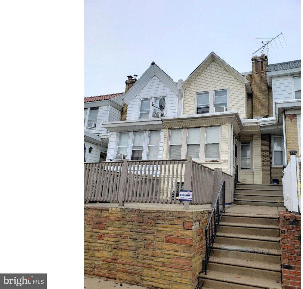 6116 Alma St, Philadelphia, PA 19149 3 Bedroom House For