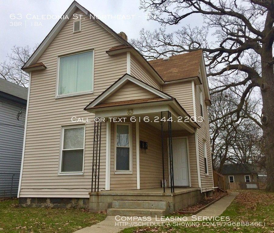 63 Caledonia St NE #1, Grand Rapids, MI 49505 3 Bedroom