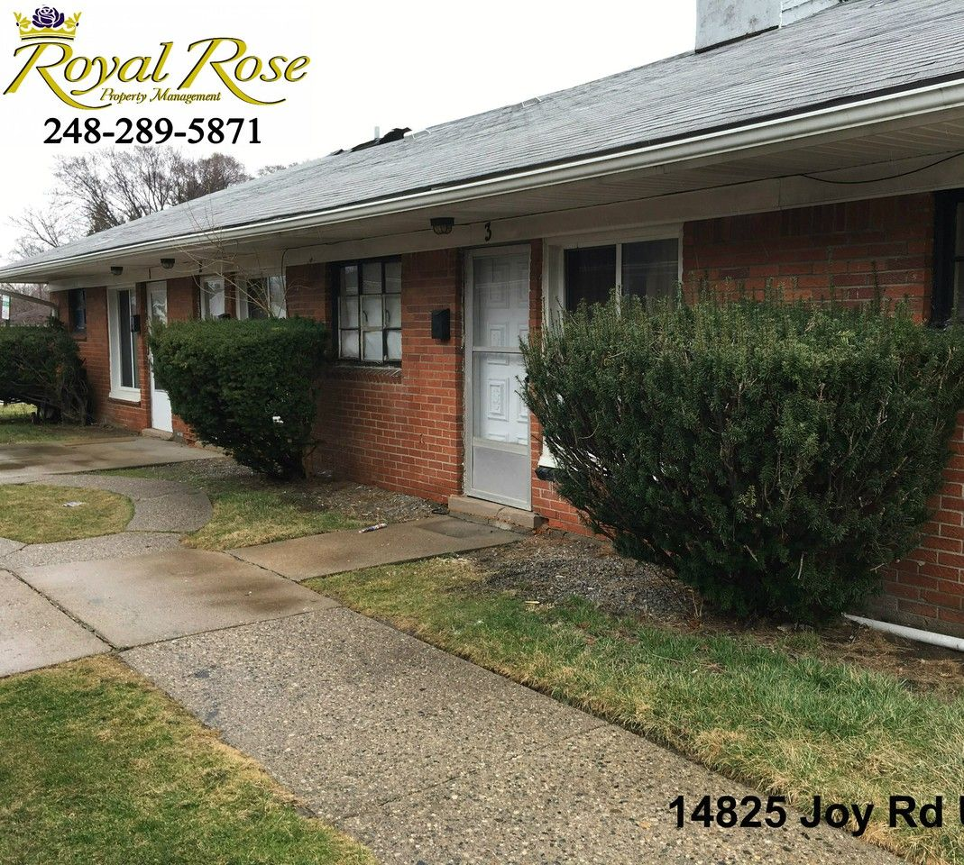 1 Room Apartment For Rent: 14825 Joy Rd, Detroit, MI 48228 1 Bedroom Apartment For
