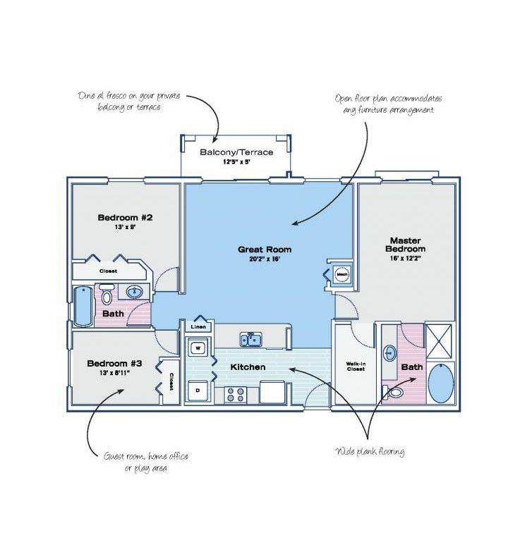 5550 Nepsa Way, Delray Beach, FL 33484 3 Bedroom Apartment