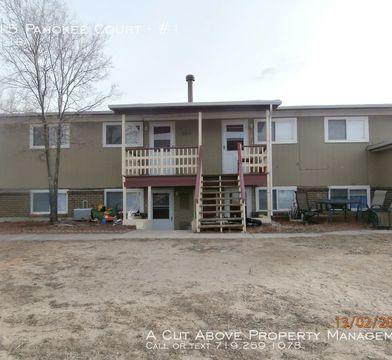 6715 Pahokee Ct 1 Cimarron Hills Co 80915 2 Bedroom