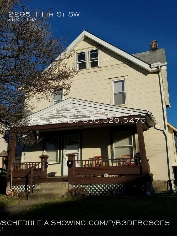 2295 11th St Sw 2 Akron Oh 44314 2 Bedroom Apartment