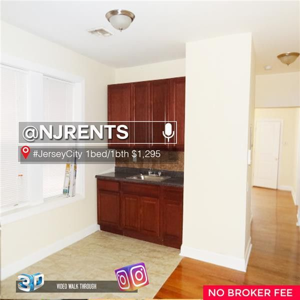 Two Bedroom Apartment Jersey City Heights: 162 Bergen Ave #4A, Jersey City, NJ 07305 1 Bedroom
