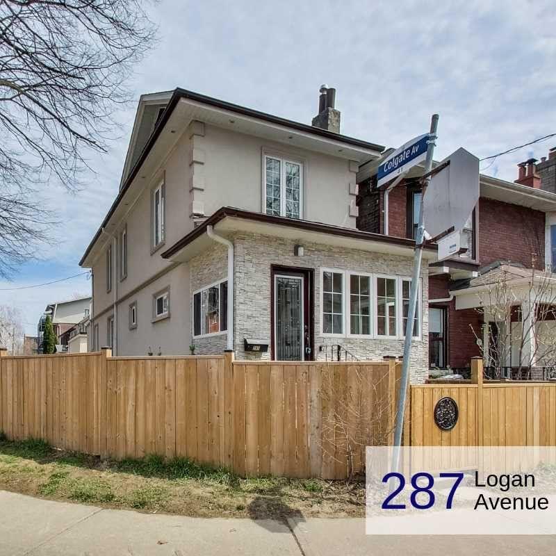 287 Logan Avenue #Whole, Toronto, ON M4M 2N6 3 Bedroom