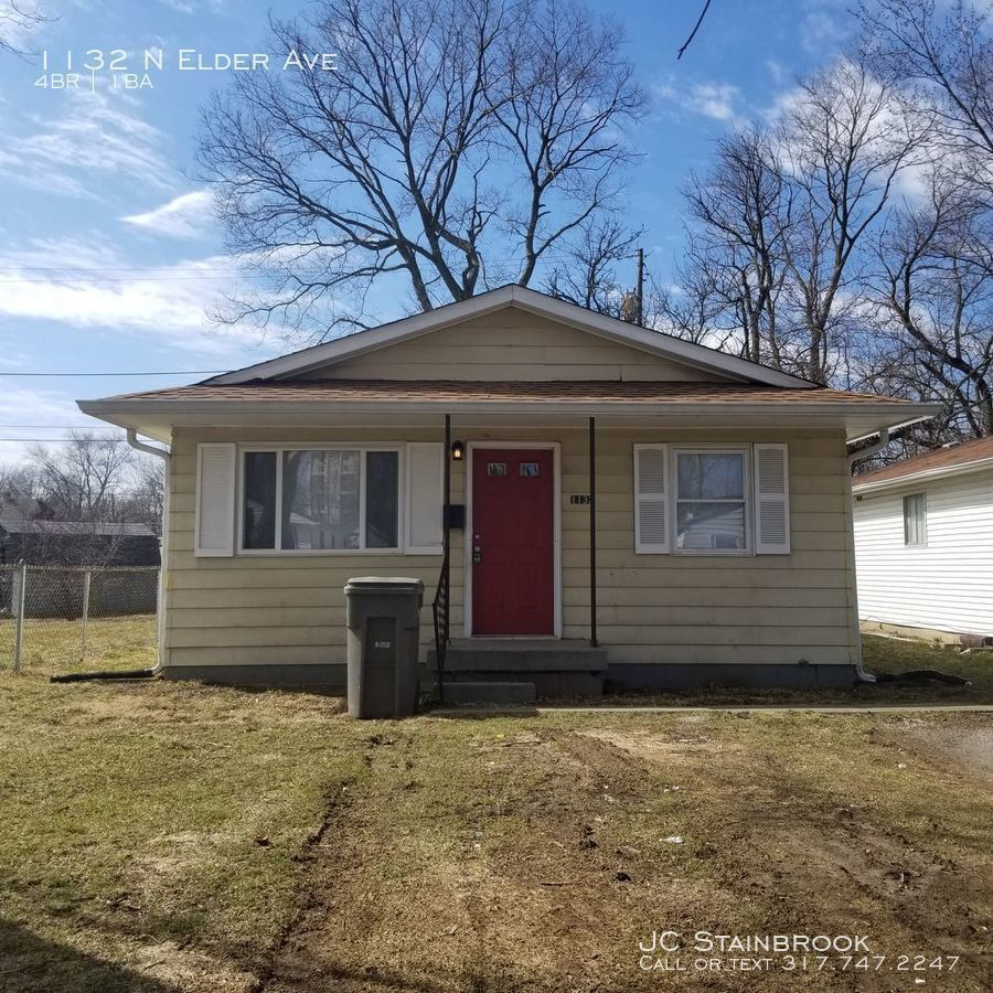 Apartments For Rent In Avon Connecticut: 1132 N Elder Ave, Indianapolis, IN 46222 4 Bedroom House
