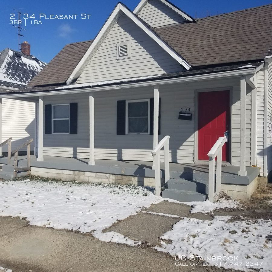 2134 Pleasant St, Indianapolis, IN 46203 3 Bedroom House