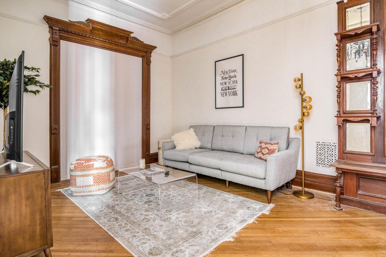 Ious Bed Stuy Brownstone Apartments For Rent New York