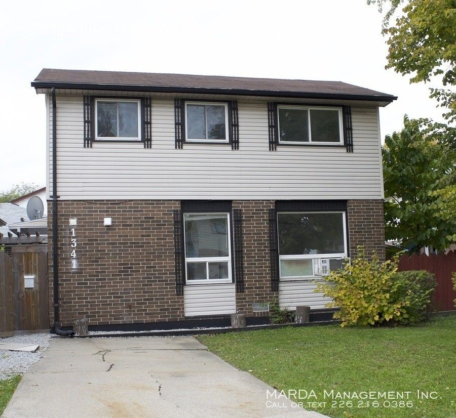 1341 Arncliffe Pl, Windsor, ON N8S 4K1 3 Bedroom House For