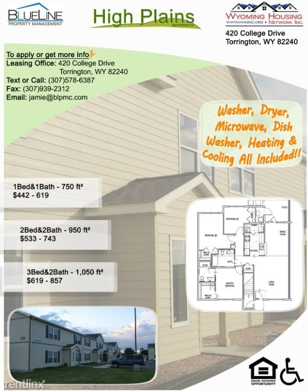420 College Dr, Torrington, WY 82240 3 Bedroom Apartment for