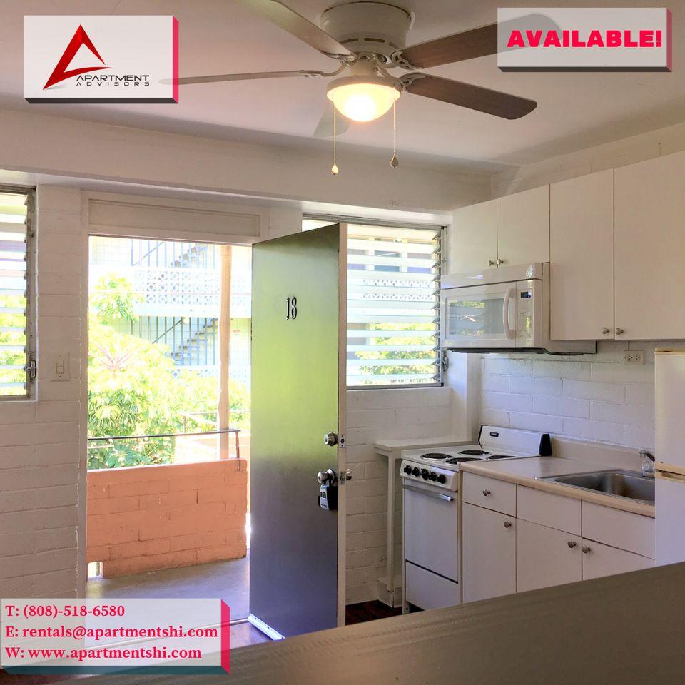 Cheap Studio Apartments Honolulu: 264 Kaʻiulani Ave #18, Urban Honolulu, HI 96815 Studio