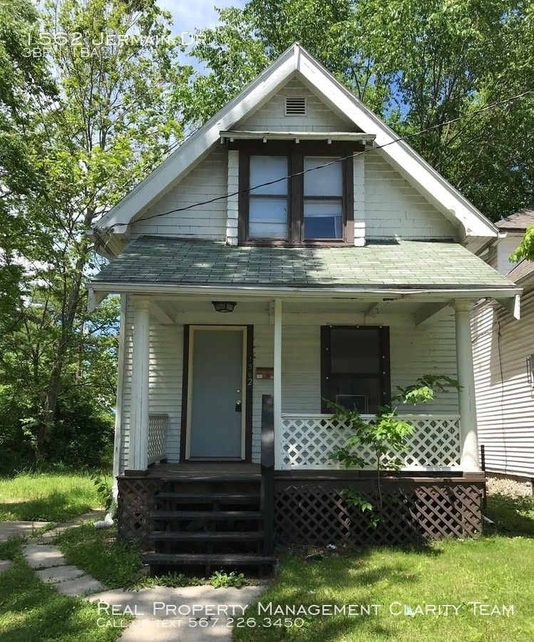 1562 Jermain Dr., Toledo, OH 43606 3 Bedroom House For