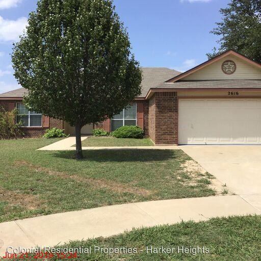 2616 Joseph Dr, Copperas Cove, TX 76522 3 Bedroom House