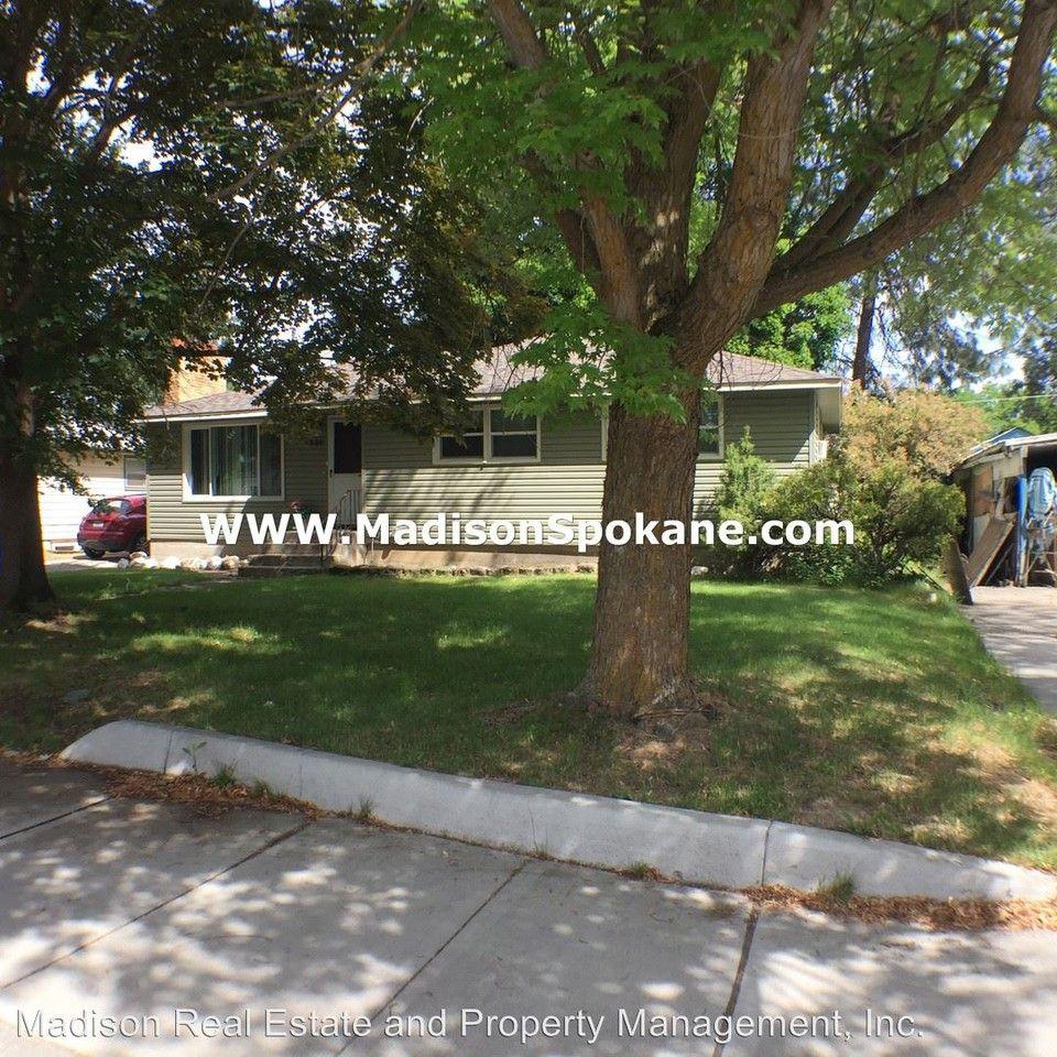 1338 W Rowan Ave, Spokane, WA 99205 3 Bedroom House For