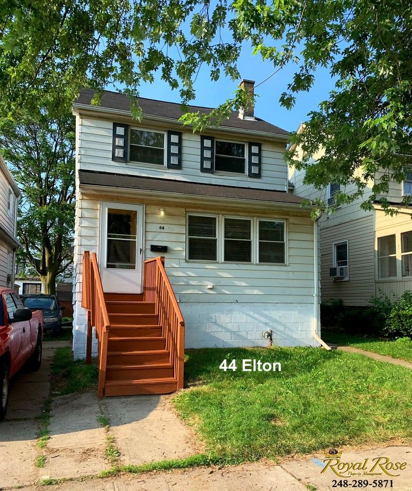 House For Rent 4 Bedroom: 44 Elton St, Ecorse, MI 48229 4 Bedroom House For Rent For