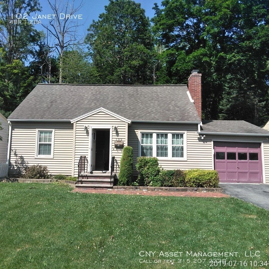 102 Janet Drive, Syracuse, NY 13224 4 Bedroom House For