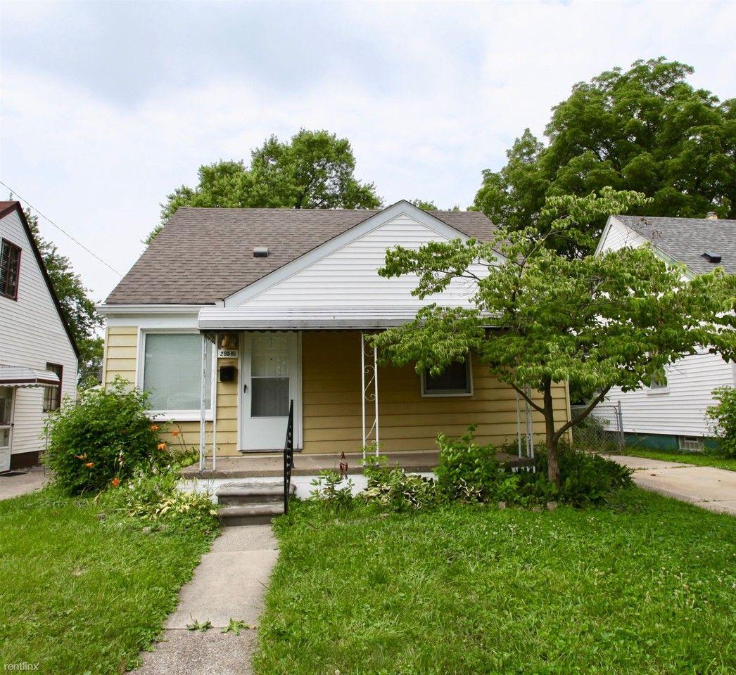 29581 Quinkert St, Roseville, MI 48066 3 Bedroom House For