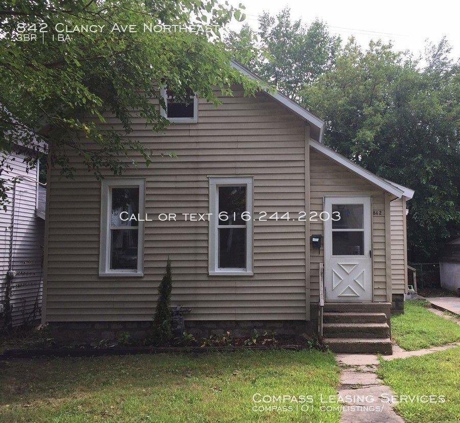 842 Clancy Ave Northeast, Grand Rapids, MI 49503 3 Bedroom