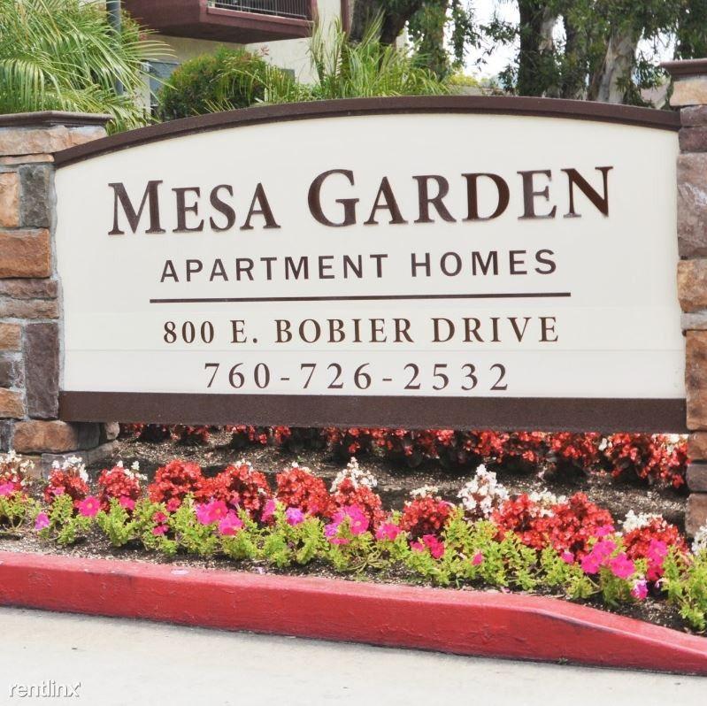 800 E. Bobier Drive, Vista, CA 92084 Studio Apartment For
