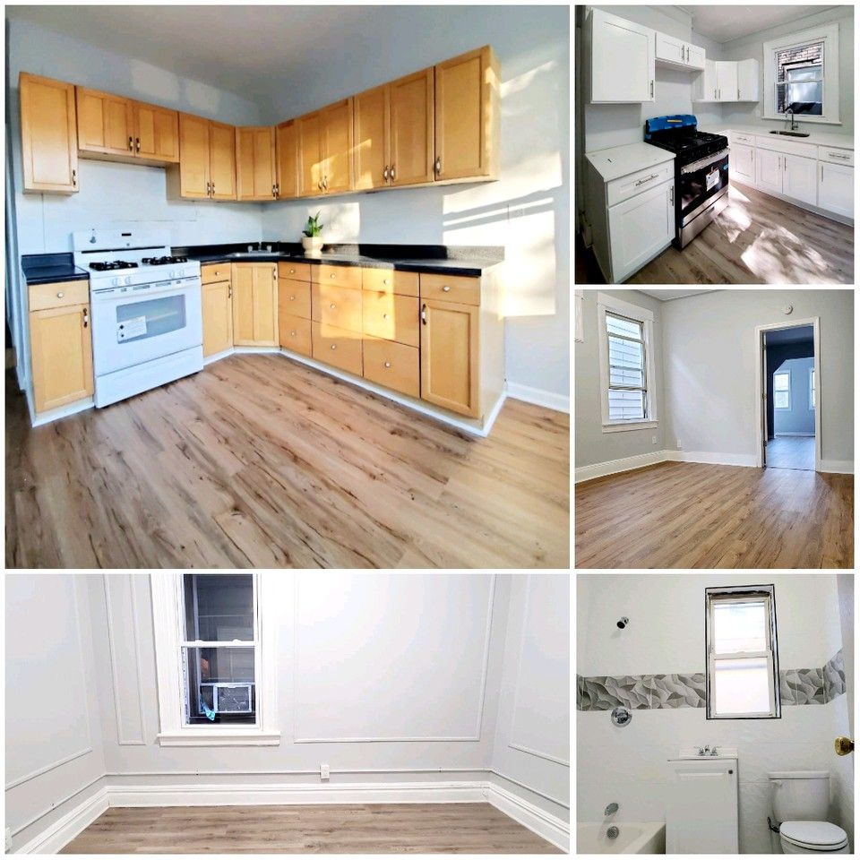 Two Bedroom Apartment Jersey City Heights: 119 Woodlawn Avenue #1, Jersey City, NJ 07305 3 Bedroom