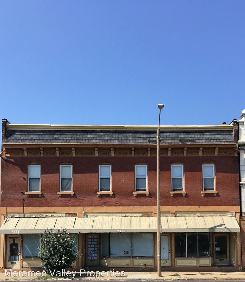 St Louis Apartments For Rent Near Washington University: 7317-21 S Broadway Apartments For Rent