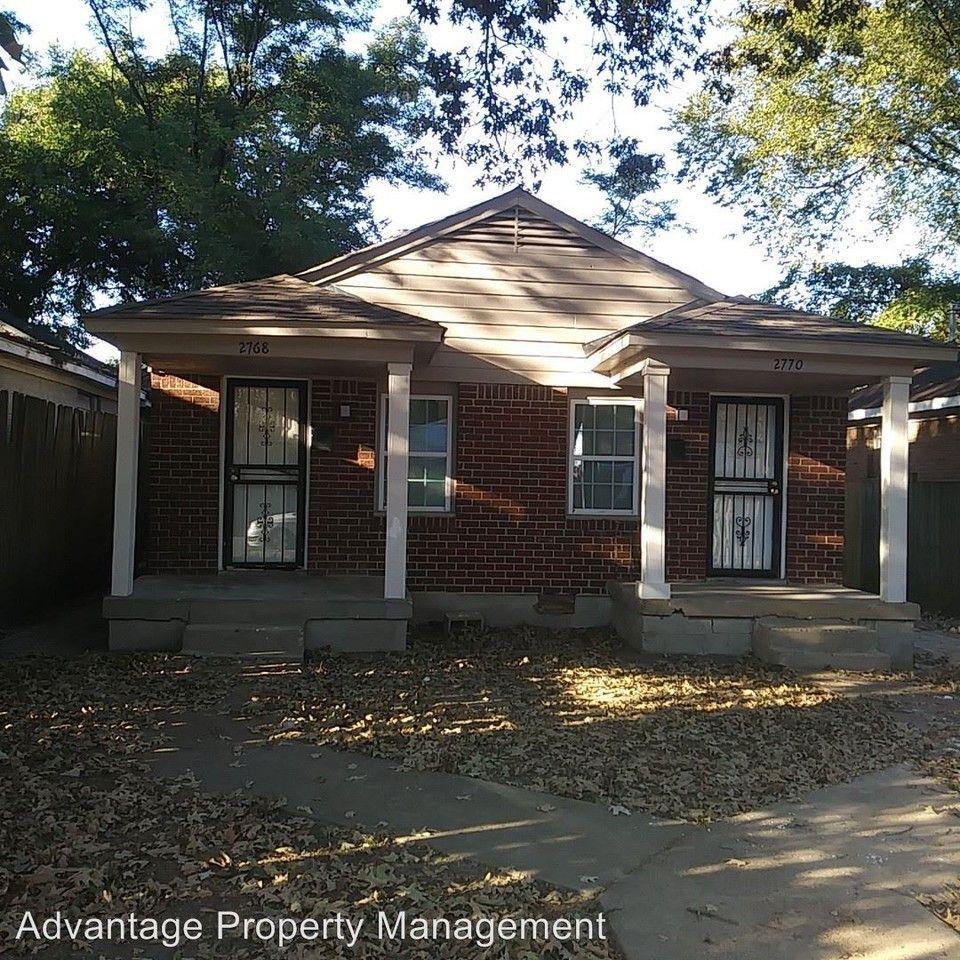 2768 Spottswood Ave., Memphis, TN 38114 2 Bedroom House