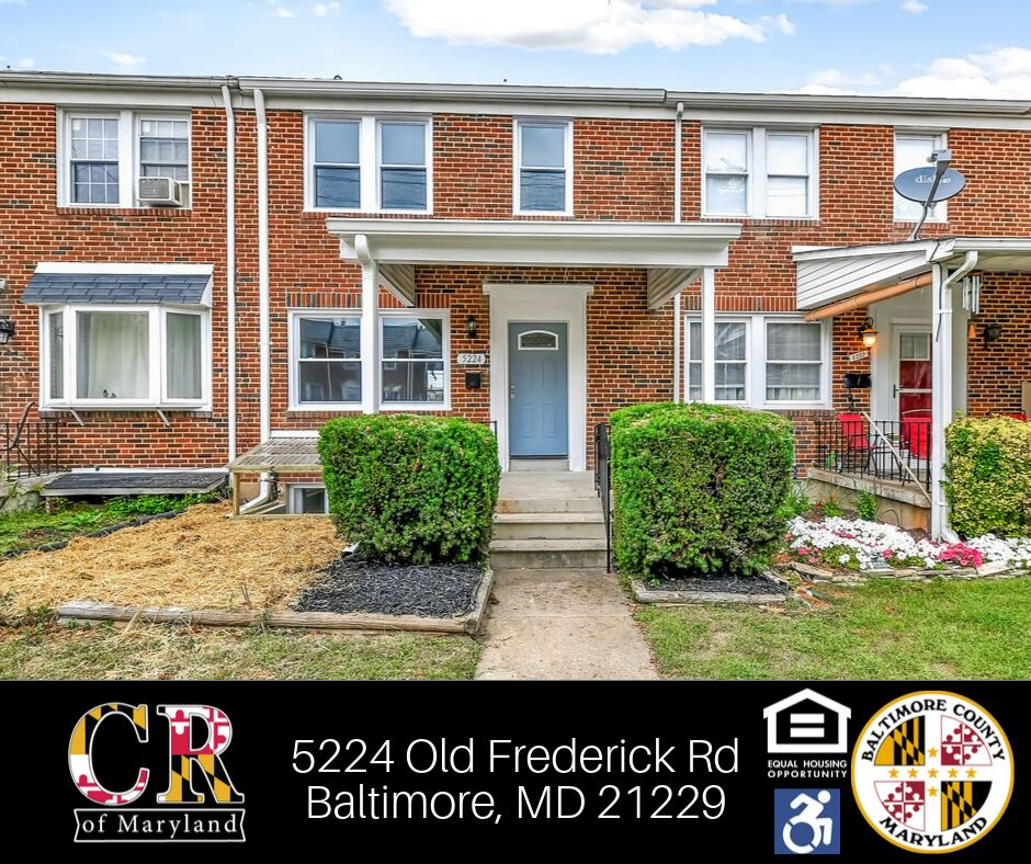5224 Old Frederick Rd, Catonsville, MD 21229 4 Bedroom