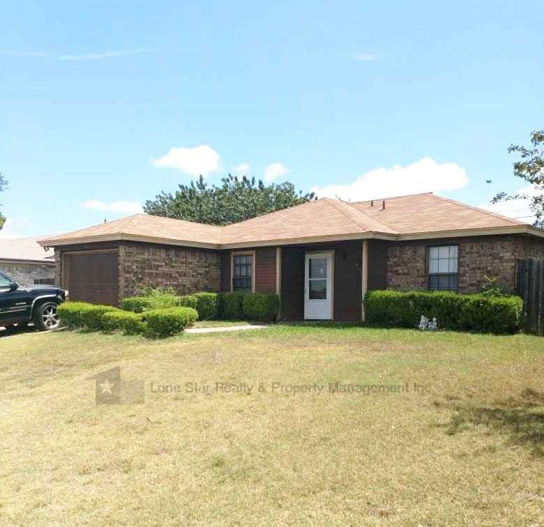 3112 Panhandle Dr, Killeen, TX 76542 3 Bedroom House For