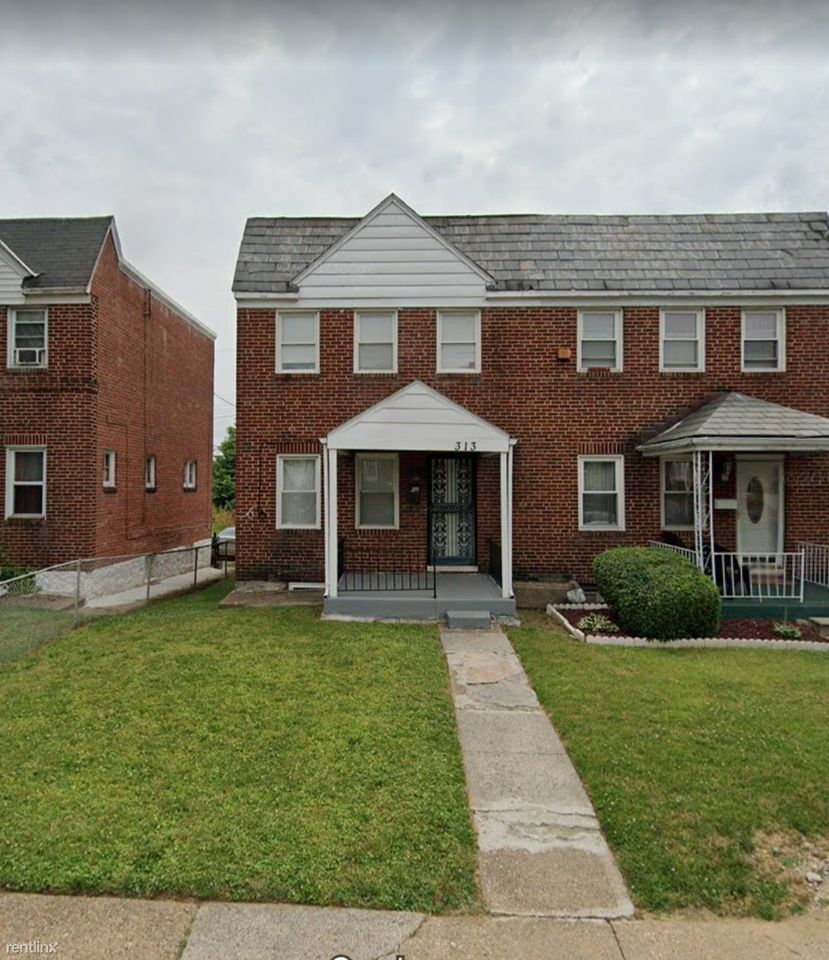 313 Mount Holly St, Baltimore, MD 21229 3 Bedroom House