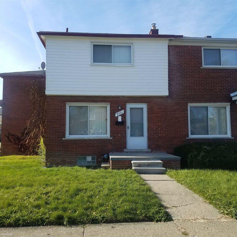 9501 Brace St, Detroit, MI 48228 2 Bedroom House For Rent