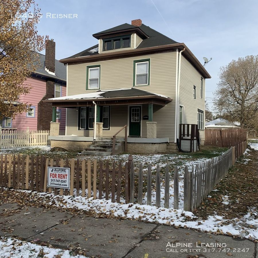 1049 S Reisner, Indianapolis, IN 46221 4 Bedroom House For