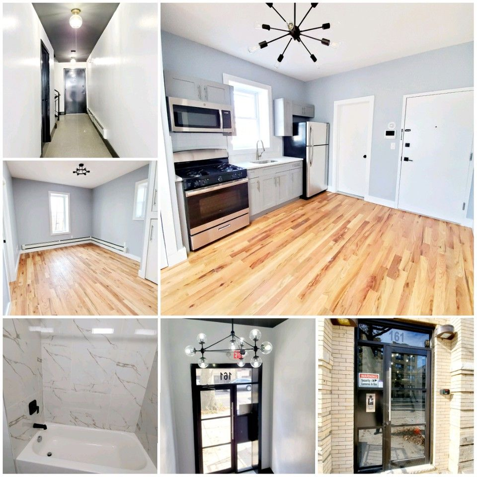 Two Bedroom Apartment Jersey City Heights: 165 Bergen Avenue #3, Jersey City, NJ 07305 3 Bedroom