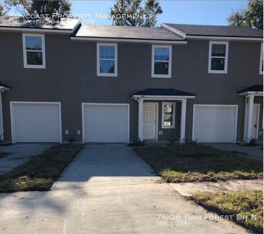 Apartments Jacksonville Fl Arlington: 7608 Rain Forest Dr N, Jacksonville, FL 32277 3 Bedroom