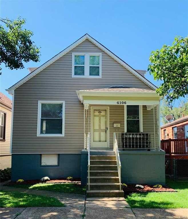 4106 Burgen Avenue, St. Louis, MO 63116 3 Bedroom House